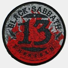 Black Sabbath 13 Patch/Sew-on Patch 602324 #