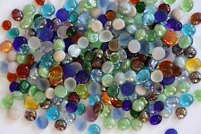 600 Pcs Mixed Color Glass Gems, Pebbles, Mosaic Tiles, Nuggets