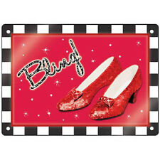 """WIZARD OF OZ """"BLING"""" Sign - Westland! RUBY SLIPPERS! Item 17261 - FREE SHIPPING!"""