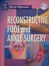 Reconstructive Foot and Ankle Surgery with DVD-ROM, 1e by Myerson MD, Mark S.