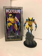 Wolverine Painted Statue Yellow Version Mark Newman Randy Bowen