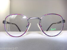 TANN'S 903 CHILDRENS EYEGLASS FRAME IN RAINBOW ON PEWTER SIZE 40-18