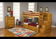 Coaster Furniture 460096 Wrangle Hill Full Over Full Bunk Bed In Pine