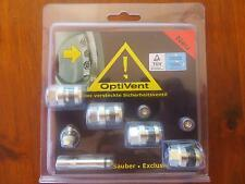 4 VALVES INVISIBLES CHROME 11.3mm  pour VOLVO S80 (TS,