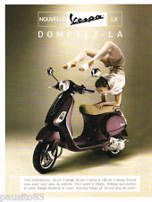 PUBLICITE ADVERTISING 085  2006  VESPA   scooter LX cyclomoteur