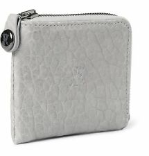 PARABELLUM Courier Zip-Around Leather Billfold Wallet $325 NWT Hand made in USA