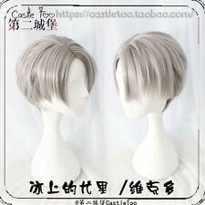 Anime Yuri!!! on Ice Viktor Nikiforov Cosplay Party Full Wig Straight Hair Wig