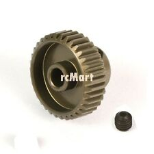 Yeah Racing Aluminum 7075 Hard Coated Motor Gear Pinion 64P 37T RC Car #MG-64037