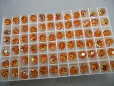 36 swarovski vintage crystal beads,8mm topaz AB #5000    special