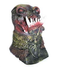 Zombie Piranha Fish Man Mask Demon Fancy Dress Halloween Latex Full Head Costume