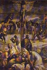 AK: Venezia - Scuola Grande di San Rocco - La Crocifissione (partocolare) (Tinto