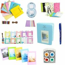 9in1 Accessories Album/Lens/Filter/Frame/Sticker/pen for Fujifilm Instax Mini 8