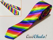CORBATA MULTICOLOR ARCOIRIS ORGULLO GAY RAINBOW TIE GAY PRIDE