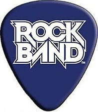 ROCK BAND Logo GUITAR PICK NEW OFFICIAL MERCHANDISE RARE Playstation