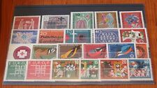 Germany Complete Year 1963 Stamp Set Mint Never Hinged MNH German Stamps