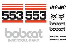 (ORIGINAL LOOK) BOBCAT 553 FULL DECAL STICKER SET KIT SKID STEER Dd