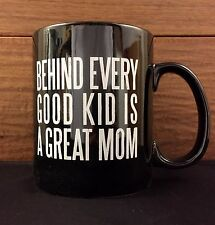 BEHIND EVERY GOOD KID IS A GREAT MOM 20oz pottery mug Primitives by Kathy
