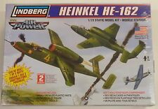 Lindberg 1/72 Heinkel HE-162 Model Kit 70520 New