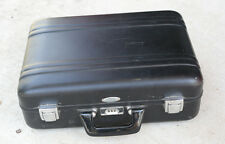 Zero Halliburton Vintage Black Aluminum Case / Needs New Foam