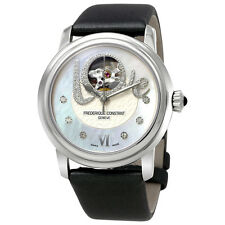 Frederique Constant Heart Beat Mother of Pearl Diamond Dial Ladies Watch FC-310L