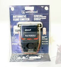 ATTWOOD MARINE BOAT AUTOMATIC BILGE PUMP FLOAT SWITCH 12 or 24VOLT