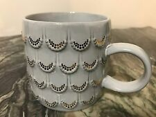 2016 Starbucks Anniversary Raised Mermaid Scales Coffee Cup Mug 10 oz
