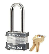 """Lock From Master 3KALH Keyed Alike $25 OR MORE FREE SHIPPING!! 2"""" Long Shackle"""