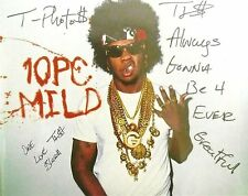 Autographed Trinidad James All Gold Everything 8x10 Photo 4