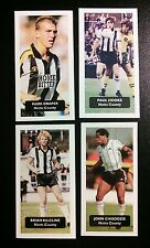 Group of 5 NOTTS COUNTY  Score UK football trade cards KILCLINE DRAPER CHIEDOZIE