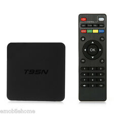 T95N TV Box Amlogic S905X Quad Core 2.4GHz WiFi USB 2.0  2GB+8GB EU PLUG