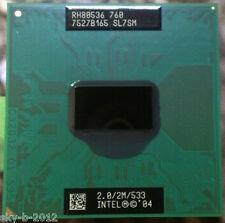 Intel Pentium M 760 SL7SM CPU Processor 2 GHz RH80536GE0412M 533 MHz