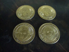 1997 Pinnacle Mint Football Coins---Stars Only---Lot Of 4---See List
