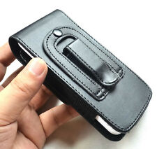 Black Vertical Leather Holster Pouch Case Belt Clip For Apple iphone 5 5C 5S 5G