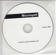 MOONSPELL Finisterra 2006 German promo test DVD