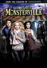 R.L. Stine's Monsterville: Cabinet of Souls (DVD, 2015)