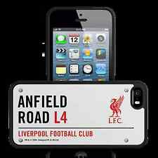 Liverpool F C 3D Street Sign iPhone 5 or 5S Hard Case Official Reds Item New