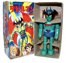 Billiken Japan Tin Toy Windup Robot Devilman
