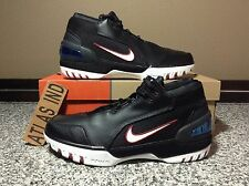AIR ZOOM GENERATION LEBRON 1 Black White Varsity Crimson Nike I 7 8 9 10 AZG 11