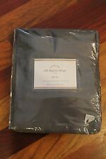 Pottery Barn ONE Silk Dupioni Pole Top Drape 50 x 124 Flagstone Gray NEW