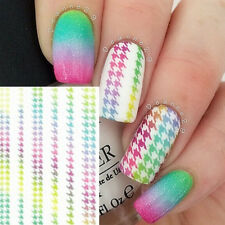 Nail Art Water Decals Transfer Stickers Manucure Pr Ongle Autocollant DS-006