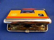 1976 OLYMPIC GAMES MONTREAL TASCO BINOCULARS IS ORIGINAL BOX made in Japan RARE!