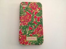 Lilly Pulitzer Pink iPhone 4 /4S Garden by the Sea Mobile Cell Phone Cover/ Case