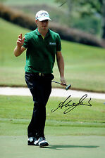 Alexander Alex NOREN 12x8 Photo Signed Autograph Tour Winner Golf AFTAL COA