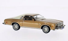 wonderful modelcar CHEVROLET MALIBU COUPE 1974 - goldbeigemetallic - 1/43 - lim.