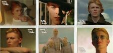 The Man Who Fell To Earth David Bowie Preview Card Set + PR2 Promo Card