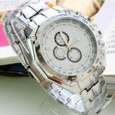 Luxury Men's Stainless Steel Wrist Watches Multi Color