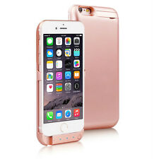Rose Gold 10000mAh PowerBank Battery Rechargeable Power Case iPhone 6s Plus 6+