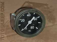 WOA8190 mano collection pression huile jeep willys mb gpw us ww2
