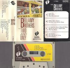 THE BELLAMY BROTHERS The two .. UNIQUE SAUDI VERY DUFFICULT CASSETTE PAPER LABEL