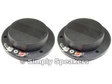 Diaphragm for EAW SM155e Horn Driver Premium SS Audio Speaker Parts 8 ohm 2 Pack